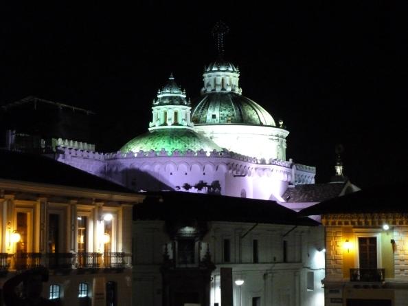 Evening in Quito, Ecuador